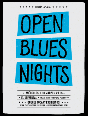 Ciclo Open Blues Nights